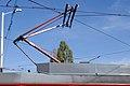 Tram in Sofia in front of Tram depot Banishora 017.jpg