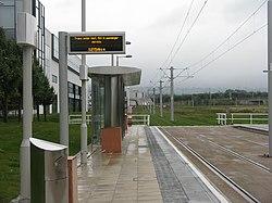 Tram stop at Edinburgh Park (geograph 3700519).jpg