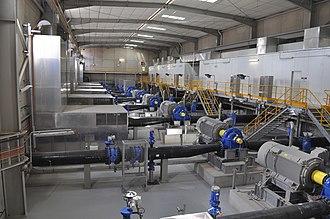 Adelaide Desalination Plant - Image: Transfer Pump Station
