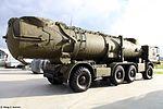 Transporter erector launcher of Redut coastal missile system at Park Patriot 02.jpg
