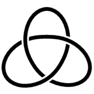 Chiral knot - Image: Trefoil Knot 02