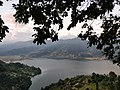 Trekking down from the World Peace Pagoda, Pokhara.jpg