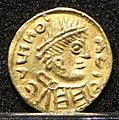 Tremisse barbarizzato con pseudolegenda, italia centro-meridionale, 600-650 ca. 02.jpg