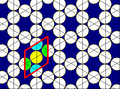 Trihexagonal tiling circle packing.png