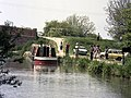 Trip boat at Colt Hill Wharf, Basingstoke Canal - geograph.org.uk - 482540.jpg
