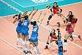 Triple block (Serbia vs China, Grand Prix 2017).jpg