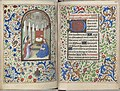 Trivulzio book of hours - KW SMC 1 - folios 166v (left) and 167r (right).jpg