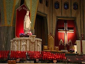 Notre-Dame-du-Cap Basilica - Image: Trois Rivieres N Ddu Cap 3 tango 7174