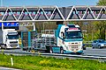 Truck Spotting on the A16 Direction Zwijndrecht 19 04 2019.... Not the Best spot with the Barrier , But better than Nowt . (40677459493).jpg