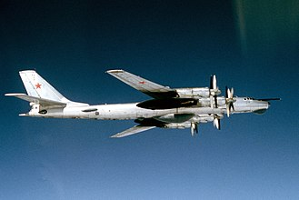 Nuclear weapons and Ukraine - Image: Tu 95 Bear D (cropped)