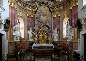 Tulln an der Donau - Altar of Minoriten-Church