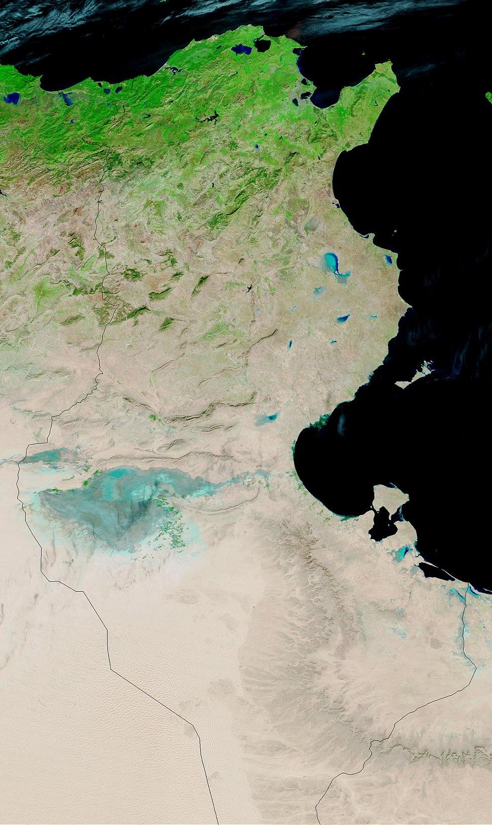 Tunesien NASA