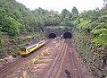 Tunnel portals, Springwood, Marsh (Huddersfield) - geograph.org.uk - 193606.jpg