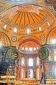 Turkey-03343 - Inside Hagia Sophia (11313305074).jpg