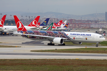 伊斯坦堡阿塔圖爾克機場-航點-Turkish Airlines Boeing 777-300ER TC-JJI IST 2012-11-24