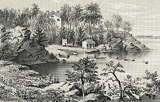 Turtle Bay, Manhattan - Turtle Bay in 1853