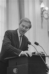 Tweede Kamer voorjaarsnota minister Ruding tijdens zijn antwoord, Bestanddeelnr 934-0254.jpg