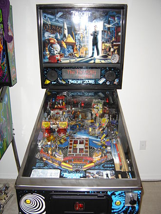 Twilight Zone (pinball) - Image: Twilight Zone pinball