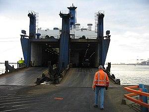 Twin ramps on RoRo ship.JPG
