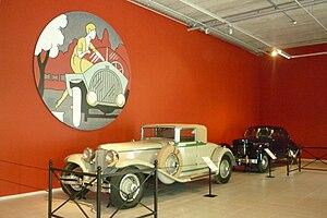 Louwman Museum - Image: Two Cord Automobiles in Louwman Museum