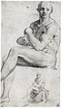 Two Studies of a Seated Male Nude MET sf-rlc-1975-1-281.jpeg