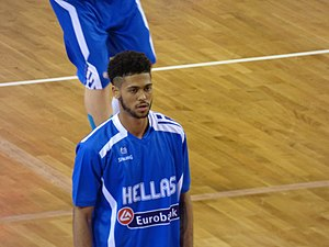 Tyler Dorsey - Dorsey, with the Greek Under-19 national team, during the 2015 FIBA Under-19 World Cup.