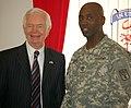 U.S. Senators make visit to Humphreys Garrison (5168727572).jpg