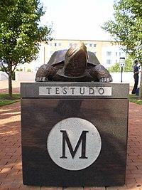 UMD Testudo Statue.JPG