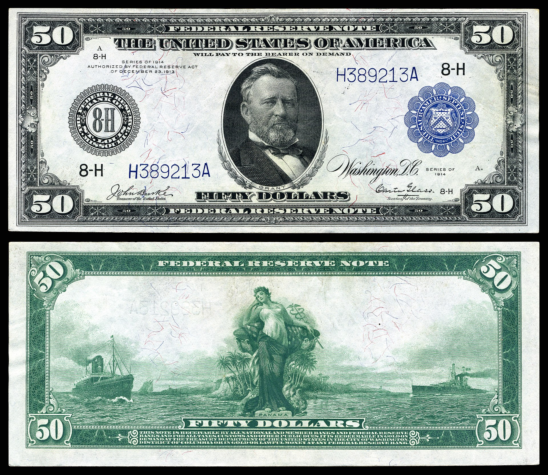 1977 100 dollar bill security features -  Img