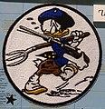 USS Bunker Hill (CV-17) patch - Oregon Air and Space Museum - Eugene, Oregon - DSC09809.jpg
