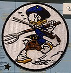 USS Bunker Hill (CV-17) patch - Oregon Air and Space Museum - Eugene, Oregon - DSC09809.jpg