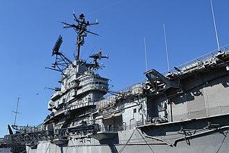 USS Hornet Museum - Image: USS Hornet Museum island