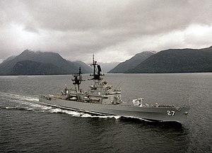 USS Josephus Daniels CG-27