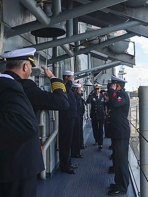 Giuseppe Cavo Dragone - Image: USS Monterey 130422 N QL471 233