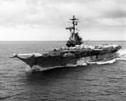 USS Oriskany (CVA-34) near Midway Atoll 1967