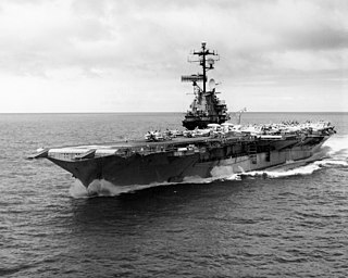 USS <i>Oriskany</i> (CV-34) US Navy aircraft carrier sunk as an artificial reef off the coast of Florida