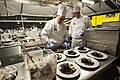 US Army Reserve Culinary Arts Team serves three-course meal to guest diners 160310-A-XN107-158.jpg