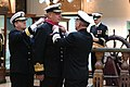 US Navy 040226-N-2383B-050 Vice Adm. Chris Ritchie, Chief of Navy, Royal Australian Navy, receives the Legion of Merit from Adm. Vern Clark, Chief of Naval Operations (CNO).jpg