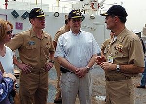US Navy 050129-N-8629M-116 U.S. Ambassador to ...