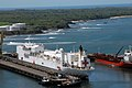 US Navy 070730-N-8704K-092 The Military Sealift Command (MSC) hospital ship USNS Comfort (T-AH 20) is moored in Acajutla, El Salvador.jpg