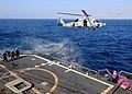 US Navy 081119-N-1082Z-036 An SH-60B Sea Hawk conducts helicopter in-flight refueling.jpg