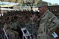 US Navy 081121-N-7526R-240 Rear Adm. Philip H. Greene Jr. addresses a question during an all-hands call at Camp Lemonier.jpg