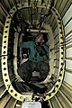 US Navy 091216-N-3038W-084 Aviation Electronics Technician 3rd Class Robert Cager performs maintenance on the electrical system in the tail section of an SH-60F Sea Hawk helicopter.jpg