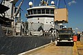 US Navy 100122-N-5688F-008 Supplies are loaded onto the Royal Netherlands navy logistics support vessel HNLMS Pelikaan (A804) at Naval Station Guantanamo Bay.jpg