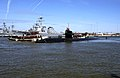 US Navy 100305-N-7705S-044 USS Norfolk (SSN 714) is guided from the pier as the ship departs Naval Station Norfolk.jpg