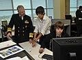 US Navy 101102-N-8273J-037 Chief of Naval Operations (CNO) Adm. Gary Roughead tours Dubiski Career High School.jpg