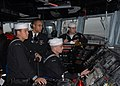 US Navy 110610-N-ZI300-056 Sailors stand the navigation safety team as the guided-missile frigate USS Boone (FFG 28) arrives in Talcahuano, Chile.jpg