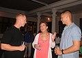 US ambassador to Timor Leste hosts a social gathering for 7th Fleet sailors and Marines 130625-N-QD718-021.jpg
