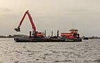 Uitbaggeren Langweerderwielen vanaf Motorvrachtschip Hector uit lelystad 10.jpg