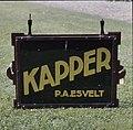 Uithangbord Kapper P.A. Esvelt - Arnhem - 20371233 - RCE.jpg